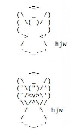ASCII Art Angel
