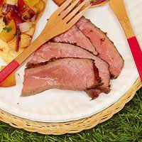 Mustard-and-Rosemary Sirloin Steak
