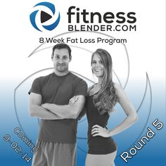 Round 5 of the new 8 Week Fat Loss Program goes live tomorrow morning!