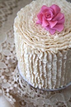 Lovely Ruffle Cake...