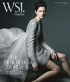 Stella Tennant on the cover of the WSJ Magazine May 2012.