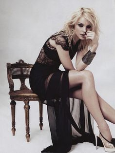 Jessica Stam. Lingerie as Outerwear.