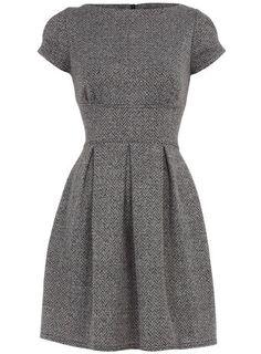 grey dress...I'm in love