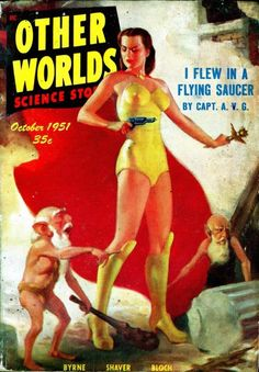 flying saucer pulp