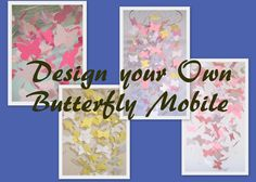Design your own Butterfly Nursery Mobile by Flutters on Etsy, $55.00