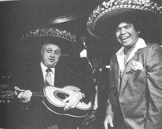 Tommy Lasorda and Fernando Valenzuela