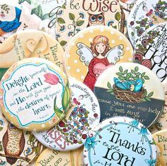 Pocket Mirror with Christian Theme and Bible Verse 5.00