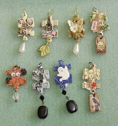 Altered Puzzle Charms
