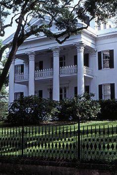 Stanton Hall, Natchez, Mississippi.