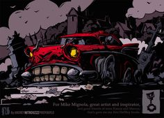 Bel Air the Corpse by Andrey Pridybaylo, via Behance