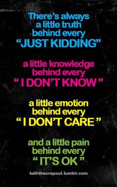 a little...true