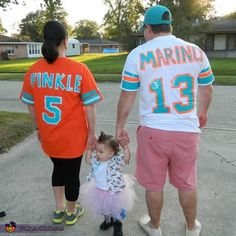 Ace Ventura Family Costume - Ace Ventura, Finkle and Marino. Danielle, this is for you!