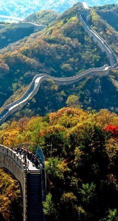 #Viagem. Great Wall of China