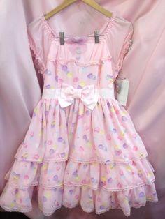 fairy kei pastel dress