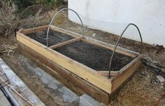 A Hinged Cover for a Raised Bed Vegetable Garden - Keeps the Critters, Raises Temps, Easier to Get to Crops...