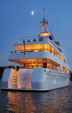 Yacht I would love to party in one day with my family [ Luxuryjacorentals.com ] #Yatch #luxury #destination