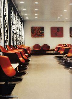 Braniff International Lounge, 1965