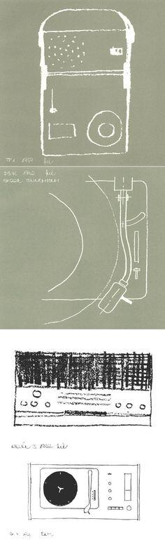 Dieter Rams Sketches