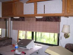 How to make curtains for an RV