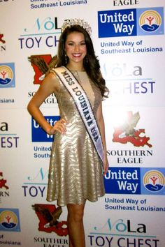 Miss Louisiana USA 2013 Kristen Girault