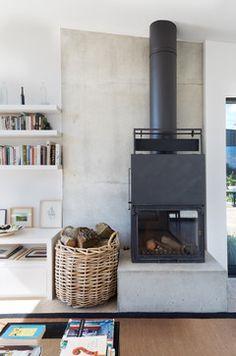 Sussex New Build - contemporary - Living Room - London - Paul Craig