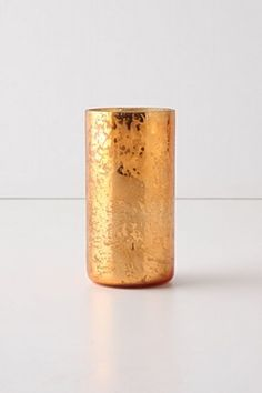 Orange Mercury Glass.