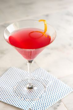 Perfect Cosmopolitan Cocktail Recipe from www.inspiredtaste.net #cocktail #recipe