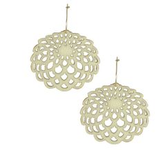 Gorgeous affordable earrings from Feisty Elle. Made of felt!