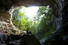 A heart-pumping climb followed by a 600-foot descent into darkness. That's how you begin your journey into one of Belize's most thrilling caves.