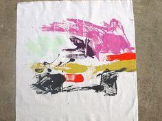 DIY: Monoprint Fabric