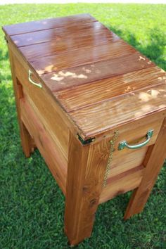 Outdoor Wooden Cooler   Do It Yourself Home Projects from Ana White