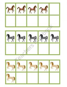 Hose Themed Spring Time 10 Frame Pocket Chart Game from What A Hoot in Prekindergarten on TeachersNotebook.com (7 pages)  - Simple 10 Frame game where children will match 10 frames with numerals and number words.
