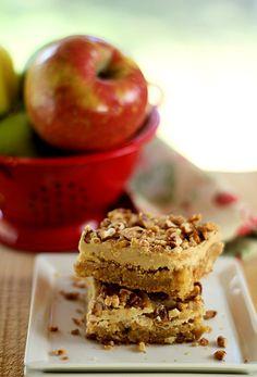 Toffee Apple Bars