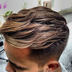 Best men's haircut. Use a cream like Lock Stock and Barrel Pucka Grooming Creme to get this texture.