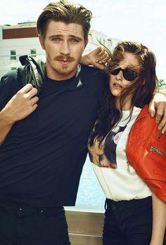 OTR photoshoot - Garrett Hedlund & Kristen Stewart