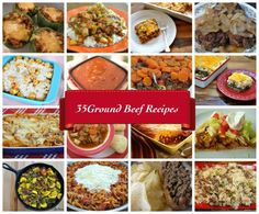 Ground Beef: 35 Mouthwatering Recipes. You'll never run out of ideas for your next meal with these options.