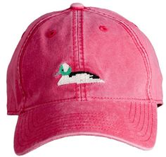Bufflehead Duck Baseball Cap - by Harding-Lane Hats $30