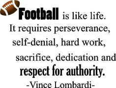 ... inspirational football coach wall quotes art sayings vinyl decals
