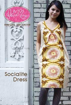Anna Maria Horner : Socialite Dress