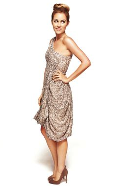 i love this dress...and Lauren Conrad