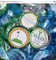 Golf Candy Labels
