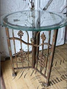 Iron Gate Table