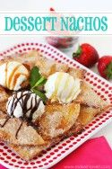 Dessert Nachos....so easy, yet so amazingly delicious! --- Make It and Love It (in the KITCHEN)