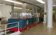 ..this is the subway between the Russell Senate Office Building and the Capitol.