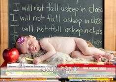 Too perfect for a teacher's baby :)