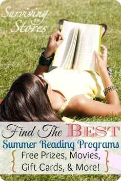 Find the BEST summer reading programs for kids this year to help motivate them to read throughout the summer!