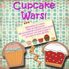 Some Sweet Talking Girl: Cupcake Wars. Fun and Easy young women's activity