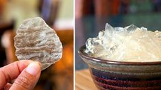 """""""glass"""" potato chips (taste like chips but are clear)"""