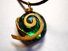 Zelda Necklace Kokiri's Forest Emerald Light $13