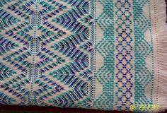 Swedish Weaving Club: Kim's Swedish Weaving Afghan